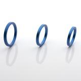 パフォーマンスリング3セット (ブルー)