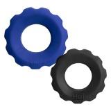 コッグコックリング2個セット (ブルー/ブラック)
