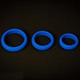 シリコン製 コックリングセット (ブルー)