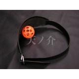 ボールマスク (黒(革))