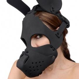 マズル付きネオプレン製ドッグマスク